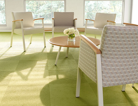 SolticeMetal Multiple SingleChairs 45DegreeConctTbls RoundCoffeeTbl low