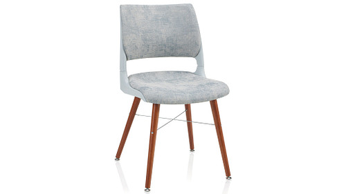 Tapered Wood Leg with Solid Shell (Upholstered Seat & Back)