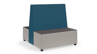 "MyPlace Lounge Furniture | Two-Sided Booth (48"" or 60"")"