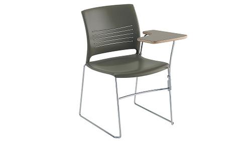 High Density Tablet Arm Chair