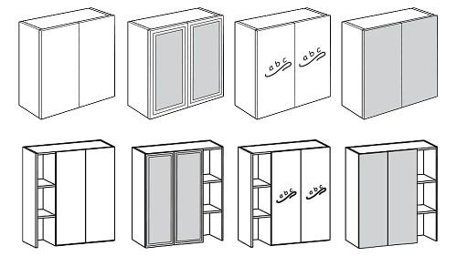 Surface-Mount Door Bookcase