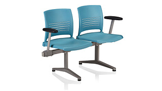 Strive Tandem Seating | 2 place unit - poly
