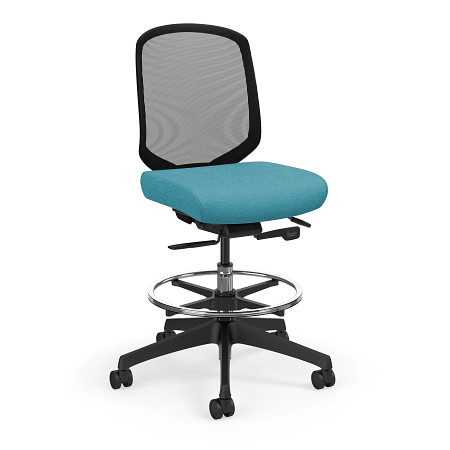 Diem stool armless ss angle1