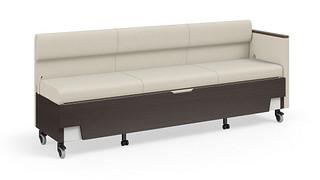Hiatus Sleeper Bench | Full Back, Right Arm