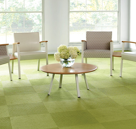 SolticeMetal RoundCoffeeTable SingleChairs