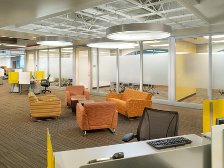 Genius A2Z Office Sela Custom Table and Screens