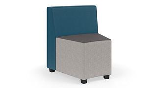 MyPlace Lounge Furniture | 30° Inside Curve w/ Back