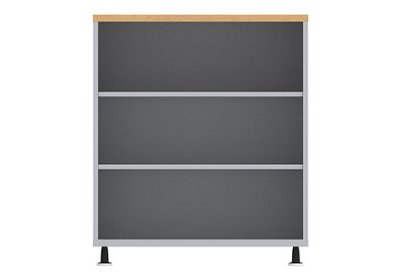 Ruckus SF bookcase 3642 casters front
