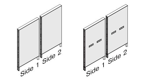Monolithic Fabric Panel - Elevated Base (optional Beltway Power)