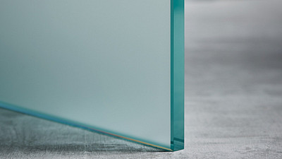 "Glass | 1/2"" Velour Satin Etch (1-side)"