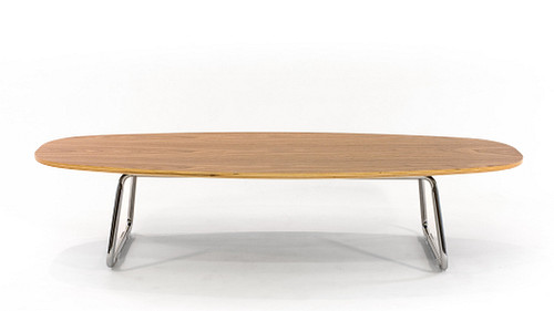 Obround Coffee Table