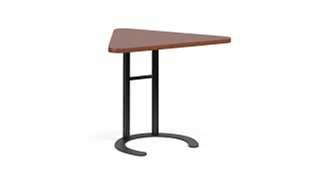 "C-Table Personal Worksurfaces | Triangle (25-30""H Adjustable)"