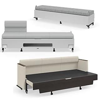 Hiatus Sleeper Bench CAD Symbols