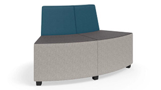 "MyPlace Lounge Furniture | 60° Outside Back Curve (32"", 48"" or 60"")"