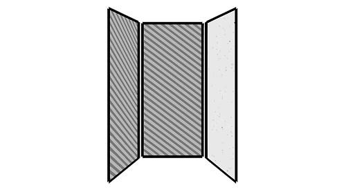 Steel Exterior Panels; Interior Panels: Left-Fabric Rear-Fabric Right-Steel