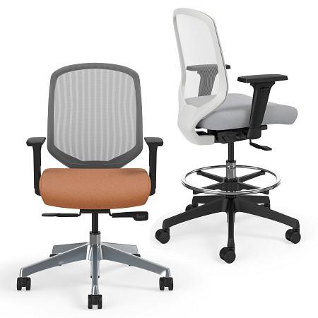Diem task chair and stool