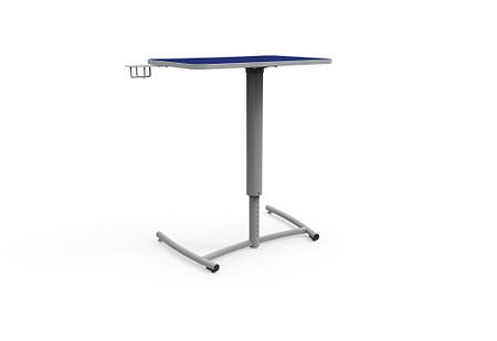 Ruckus desk adj set screw rolling cupholder