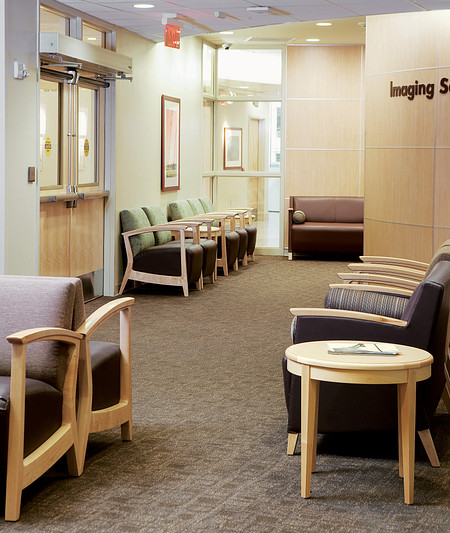 AtlantiCare Hospital Radiology Lobby Soltice Flex