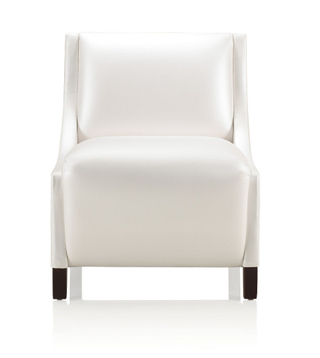 Solt medium armless chair front