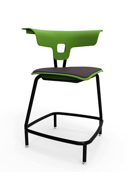 Ruckus stool 610mm glides uph