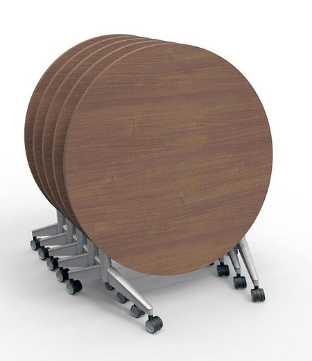 Pirouette Table round nesting