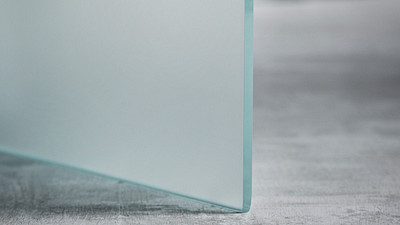 "Glass | 1/4"" Velour Satin Etch (1-side)"