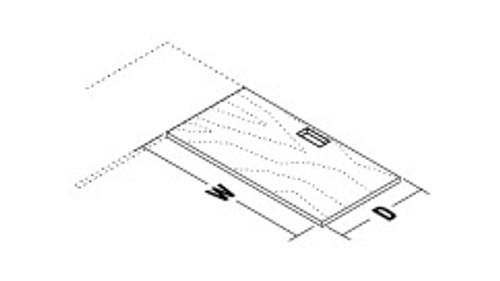 Return Surface for Wood Frame