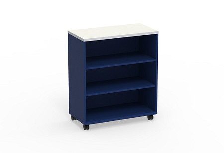Ruckus SF bookcase 3642 casters angle1