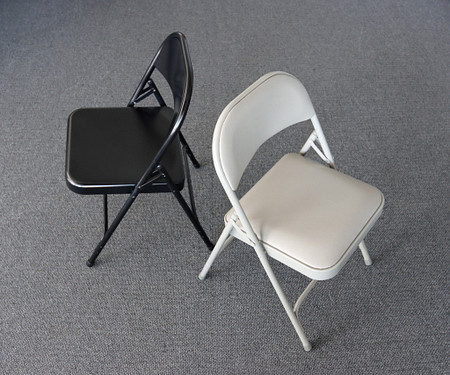 SeriesFoldingChair BlackGrey