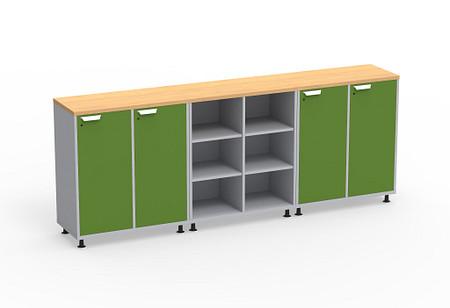 Ruckus SF cubby lockers