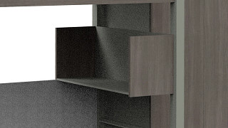 RoomScape Residence Hall Furniture | Hang On Storage Unit