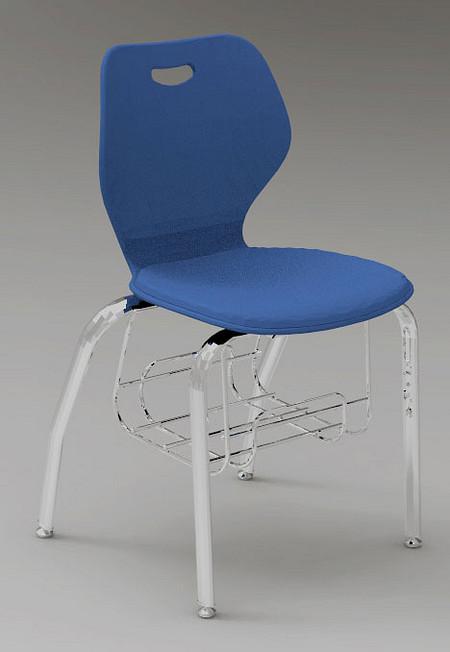 Wave chair music bookrack render