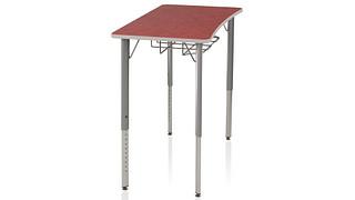 Intellect Wave Desks | 4-Leg Desk