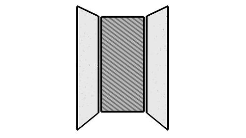 Steel Exterior Panels; Interior Panels: Left-Steel Rear-Fabric Right-Steel