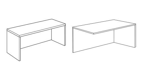 Modular Shells for Desk, Return, Credenza