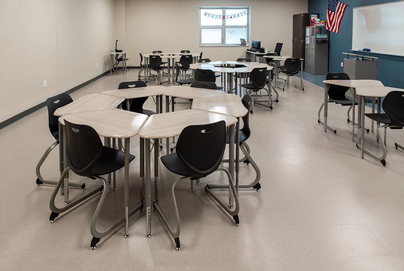 Featuring Intellect Wave Chairs and Desks