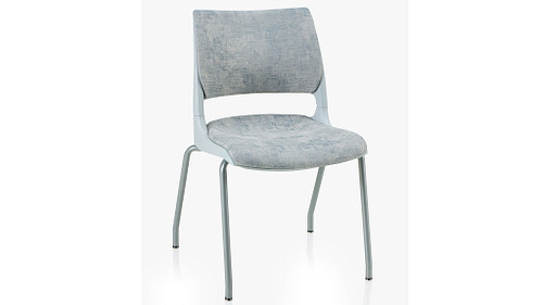 4-Leg with Solid Shell (Upholstered Seat & Back)