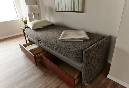 Affina LaResta bed1 drawers PatientRoom