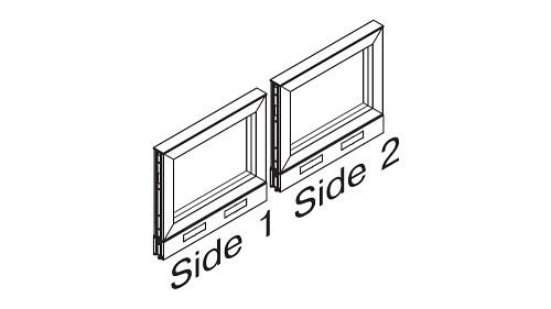 Monolithic Open Panels - Standard Base