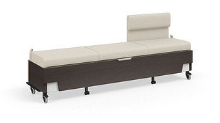 Hiatus Sleeper Bench   Right Chaise, No Arms