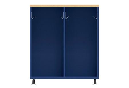 Ruckus SF locker 3642 open glides front
