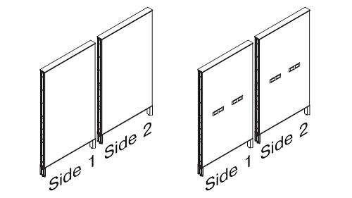 Monolithic Steel Panels - Elevated Base (optional Beltway Power)