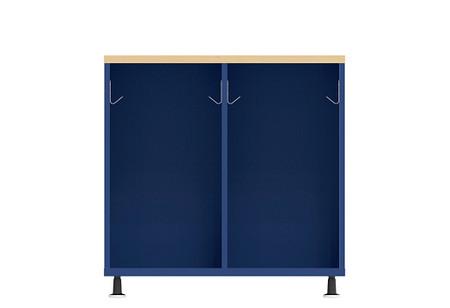 Ruckus SF locker 3636 open glides front