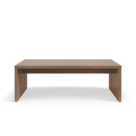 SerenadeGatheringTable StandardHeight 42by84 Stringer BookHook Front