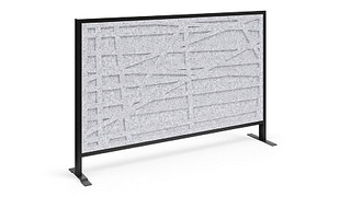 Tattoo Screens   Patterned Polyester Felt Magnetic Insert