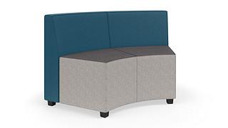 MyPlace Lounge Furniture | 60° Inside Curve w/ Back