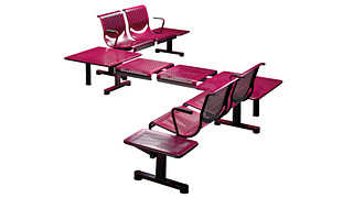 Promenade Seating   Two Place Unit