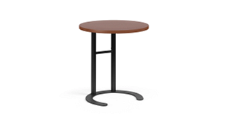 "C-Table Personal Worksurfaces | Round (25-30""H Adjustable)"
