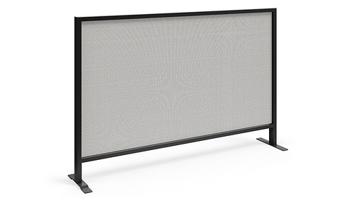 Monolithic Flex Screen with Dual Sided Tackable Fabric Core