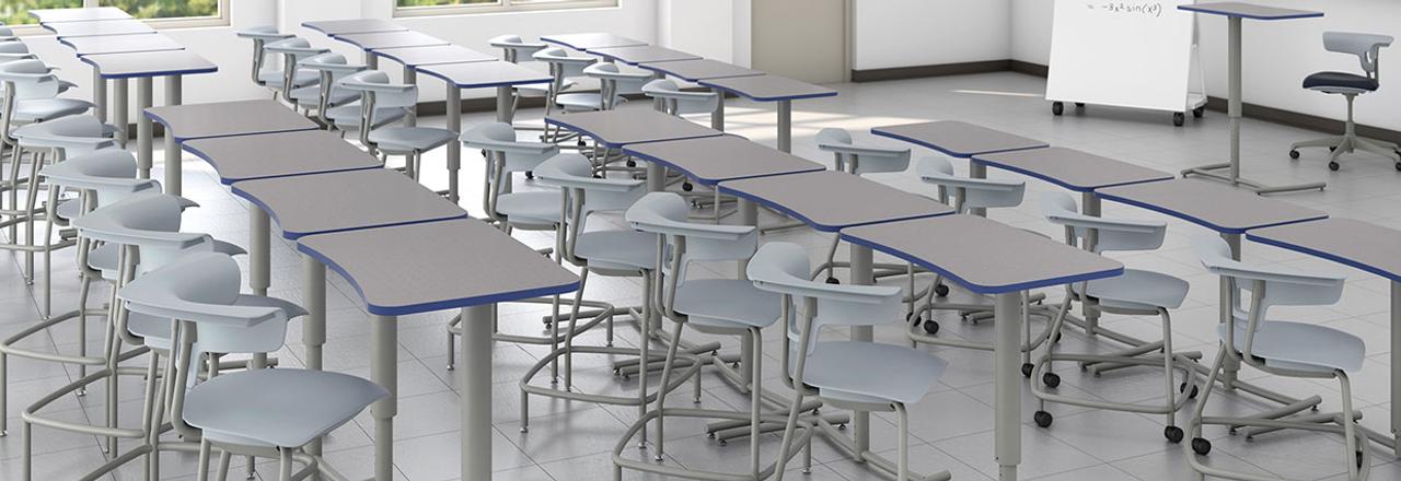 Ruckus Cantilever Desks